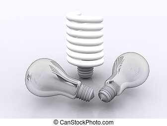 lamp business concept