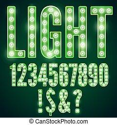 Lamp font