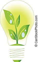 Lamp green energy
