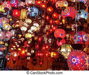 Lamp handicrafts