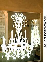 lamp in form of chandelier
