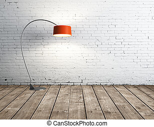 lamp in room