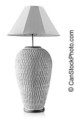 lamp interior style on white background