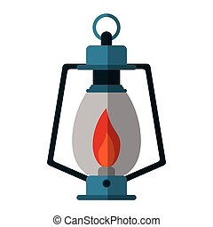 lamp kerosene old lantern camping