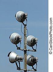 lamp mast