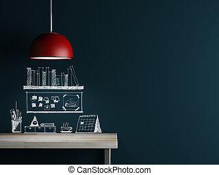 Lamp of interior decoration