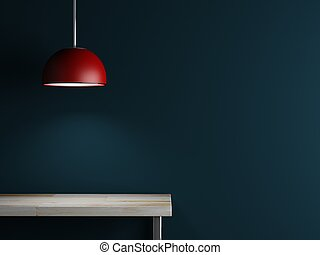 Lamp of interior decoration