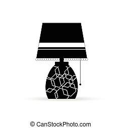 lamp old illustration