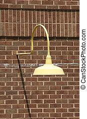 Lamp on Bricks