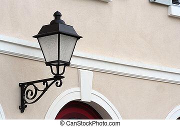 lamp paal