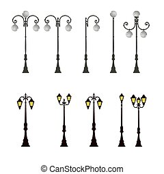 Lamp Post Lamppost Street Road Light Pole