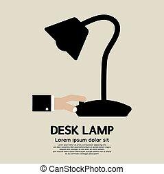 lamp., scrivania