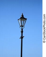 lamp, straat, oud
