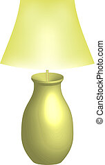 lamp, vector, illustratie