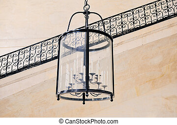 Lamp with candles