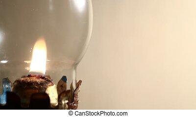 lampa, komin