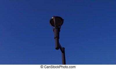 lampa, lato, podłoga