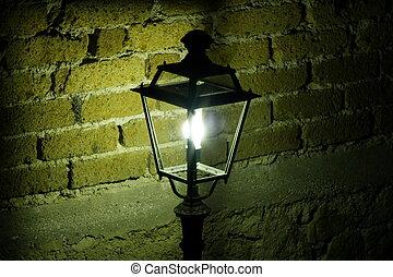 lampa, sztandar