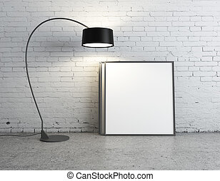lampada, e, manifesto