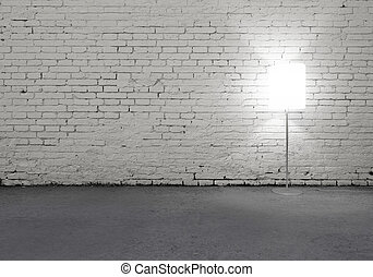 lampada, pavimento