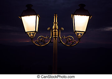 lampada, strada