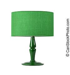 lampada tavola, isolato