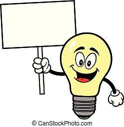 lampadina, segno