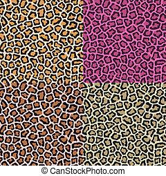 lampart skóra, seamless, gepard
