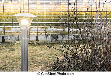 Images photographiques de af 846 photographies et images for Lampe dehors