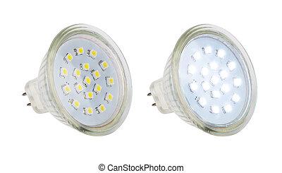lampe, leuchtdiode