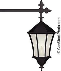 lampe, rue