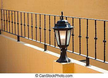 lampe, vieux