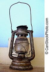 lampe, vieux, lanterne