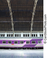 lamphong, σιδηροδρομικός σταθμός , hua