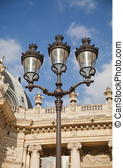 Lamppost at the Louvre - Paris