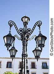 Lamppost in Ubeda