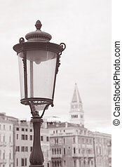 Lamppost in Venice, Italy