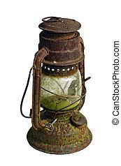 lamp/storm, molto, vendemmia, cherosene, uragano, isolato,...