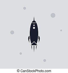 lançadeira, espaço