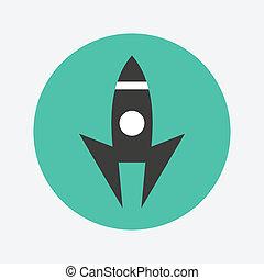 lançamento, ícone