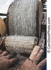 lana, procesamiento