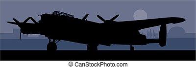 lancaster, bomber