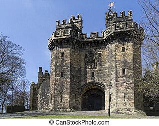 Lancaster Castle - Lancaster - England - Lancaster Castle is...