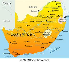 land, afrika, zuiden