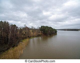 Land and lake