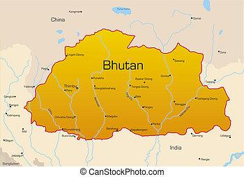 land, bhutan