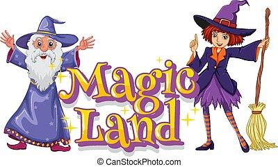 land, dopfunt, ord, design, magi, trollkarl, häxa