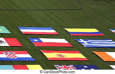 land, flaggen