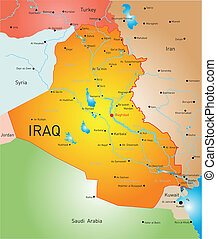 land, irak