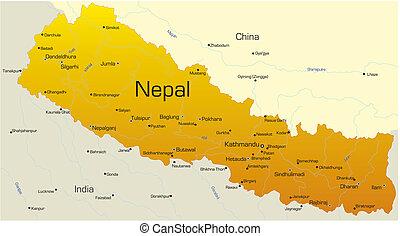 land, nepal